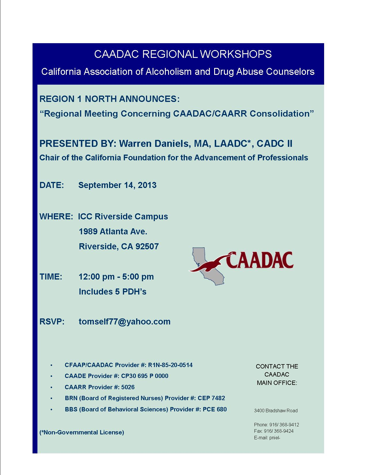 Caadacregion1nmeeting0823g 14 noon to 5 pm icc riverside campus 1989 atlanta ave 1betcityfo Images