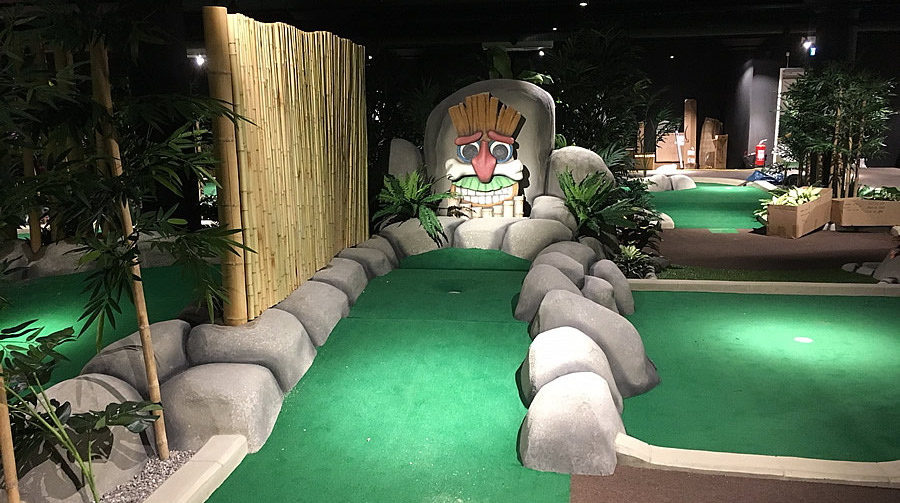 Sweden Mini Golf Course Builder