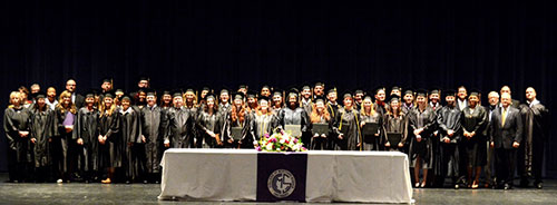 Fall Class 2014 Commencement Ceremony was held September 13