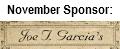 November Sponsor