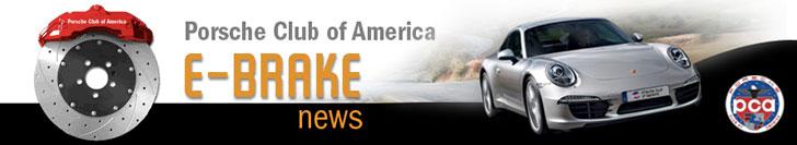 PCA E-Brake News