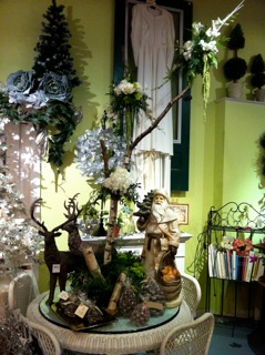 Flower shop at cheshire nursery for Log cabin florist bakersfield