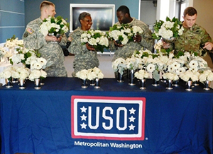 FTD Supports Military Service Members And Their Families With Flowers And Donation To USO